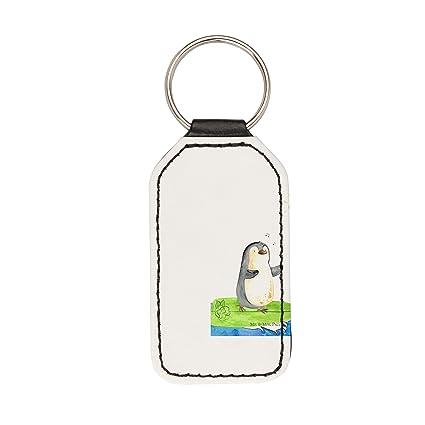 Mr. & Mrs. Panda llavero rectangular Pingüino Surfer - 100 ...
