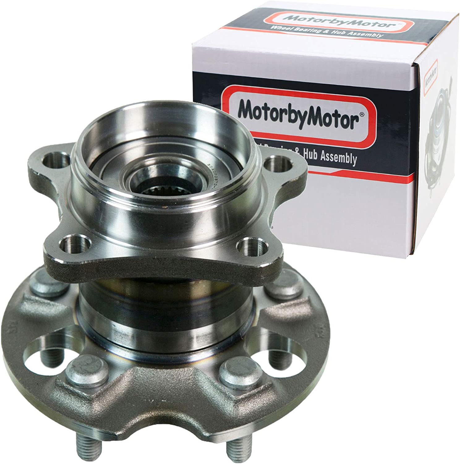 1 cciyu 512041 Wheel Hub and Bearing Assembly Replacement for fit Toyota Sienna Rear Wheel Hubs with ABS