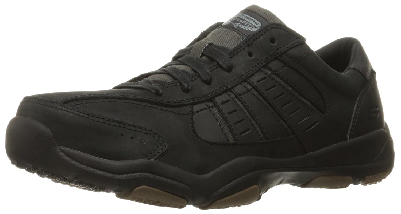 Skechers Larson-Nerick, Zapatillas para Hombre 48.5 EU|Negro (Blk)