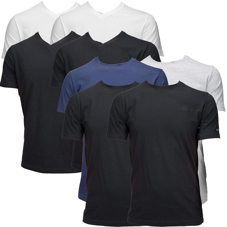 Loisirs Shirts VShirt Et Kappa Sports RondEn T 2 PackCol tQrdChxs