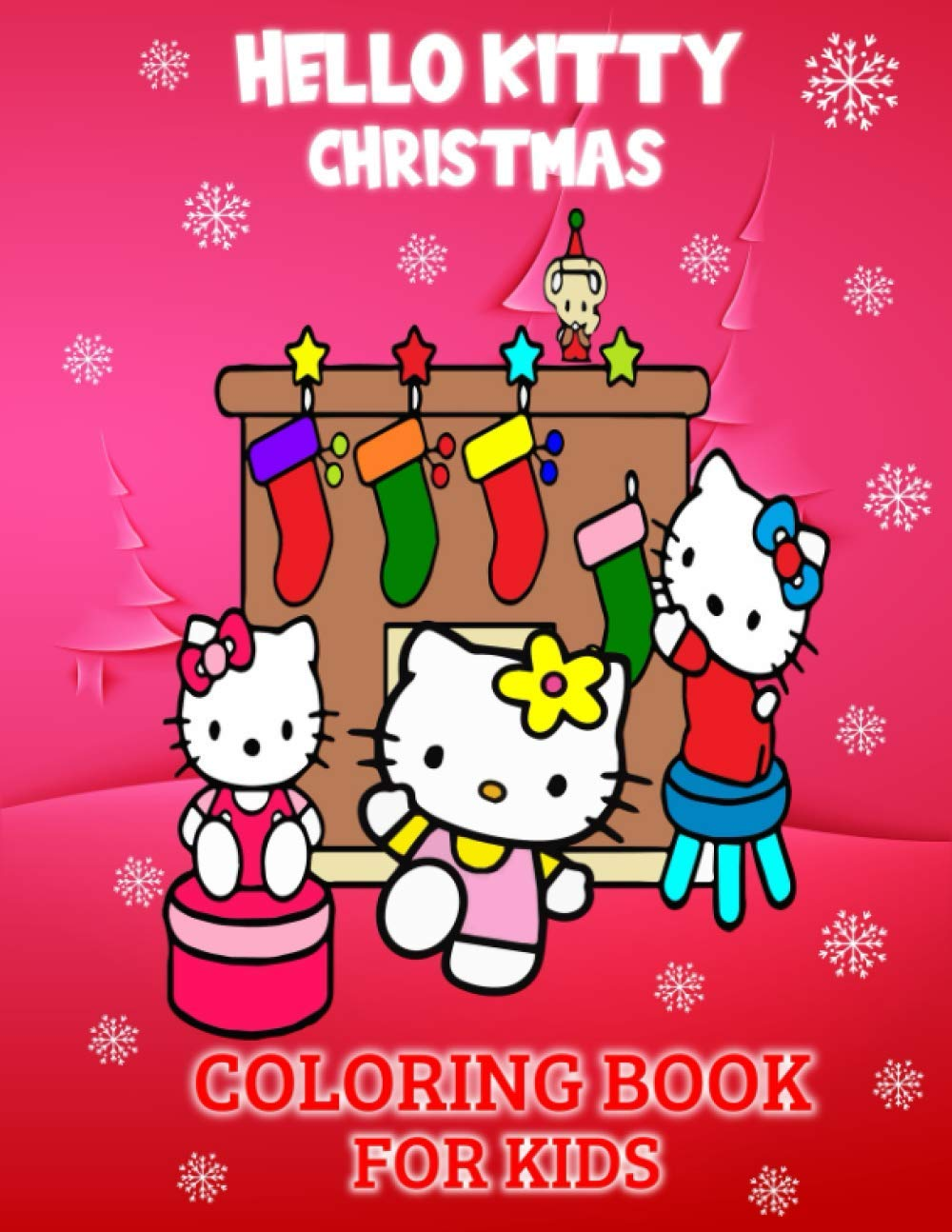 Hello Kitty Christmas Coloring Book For Kids Unique Gifts Of Christmas For Kids Who Are Hello Kitty Lovers 74 Pages Cute Designs To Color Prints Dreams 9798696902708 Amazon Com Books