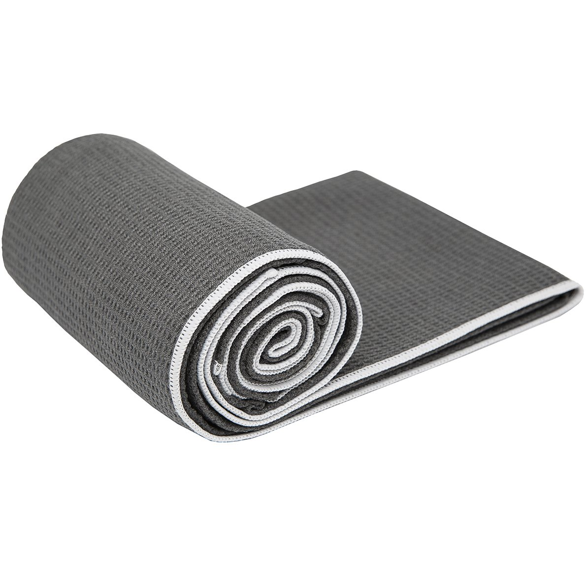 #2 Rated Hot Yoga Towel - Shandali Stickyfiber Yoga Towel - Mat-Sized, Microfiber, Super Absorbent, Anti-slip, Injury Free, 24'' x 72'' - Best Bikram Yoga Towel - Exercise, Fitness, Pilates, and Yoga Gear; Lifetime Guarantee