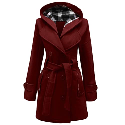 Home ware outlet – Chaqueta con capucha para mujer, talla 36 – 48
