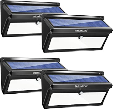 Neloodony Solar Outdoor Motion Sensor Light – Best High-End Solar Deck Lights