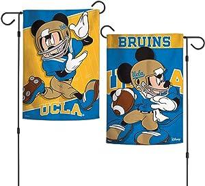 """NCAA UCLA Disney Garden Flags 2 Sided, Multicolor, 12.5"""" x 18"""""""