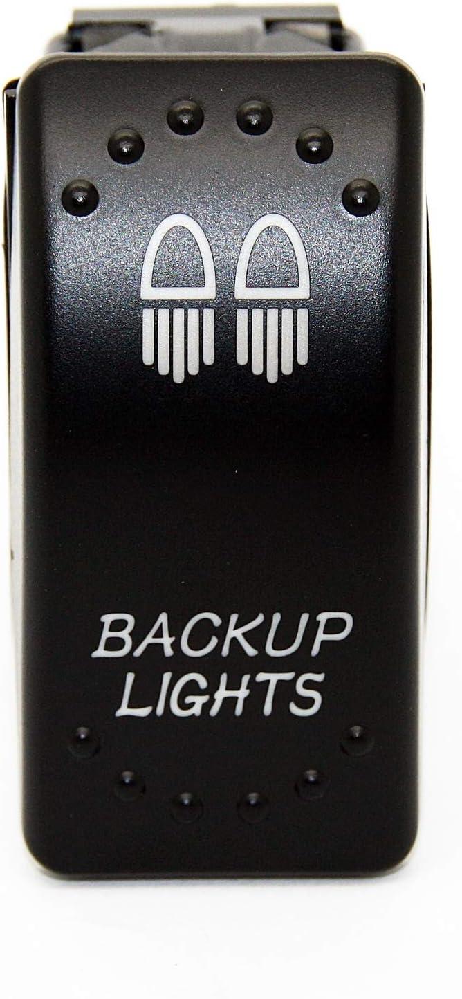 Standlicht Camping Licht Camp Light JJ4 LED-Mafia Symbol Kippschalter Wippschalter Schalter Auto Boot KFZ LKW Licht 12V 24V