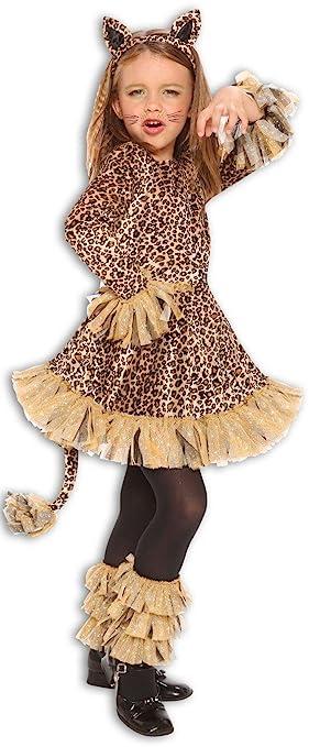 Amazon.com: Lovely Leopard Jungle Cheetah Animal Girls Halloween ...