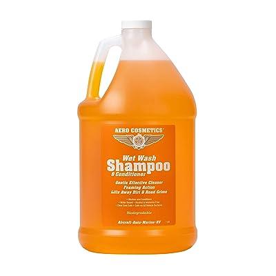 Aero Cosmetics Wet Wash Shampoo and Conditioner: Automotive