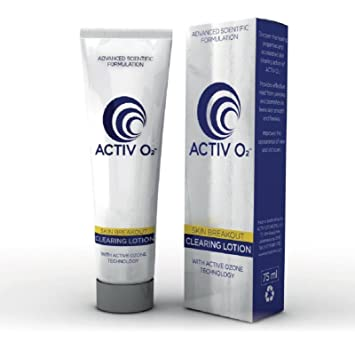 ACTIVO2 Clearing Lotion Acne Solution Cleanse Reduces Blemishes & Existing Scars | 1 Step Acne Treatment
