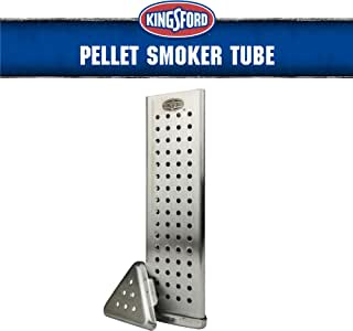 Kingsford Grilling BB13152 Pellet Smoker Tube Triangle, Turns Any Grill Into a BBQ, Made with Rust Resistant Stainless Steel