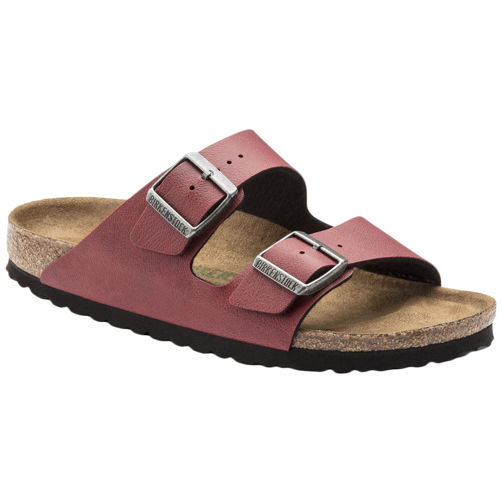 Birkenstock Unisex Arizona Birko-Flor Bordeaux Sandals 8 W/6 M US