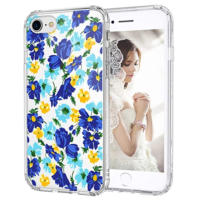 iPhone 7 Case iPhone 7 Cover MOSNOVO Floral Collection https