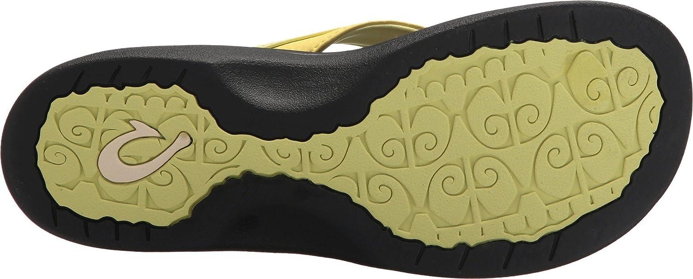 OluKai Ohana B0733BDB9D 6 B(M) US|Pineapple/Black US|Pineapple/Black B(M) a34937