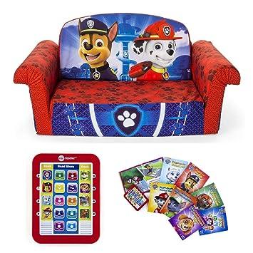 Amazoncom Paw Patrols Childrens 2 In 1 Flip Open Foam Sofa Me