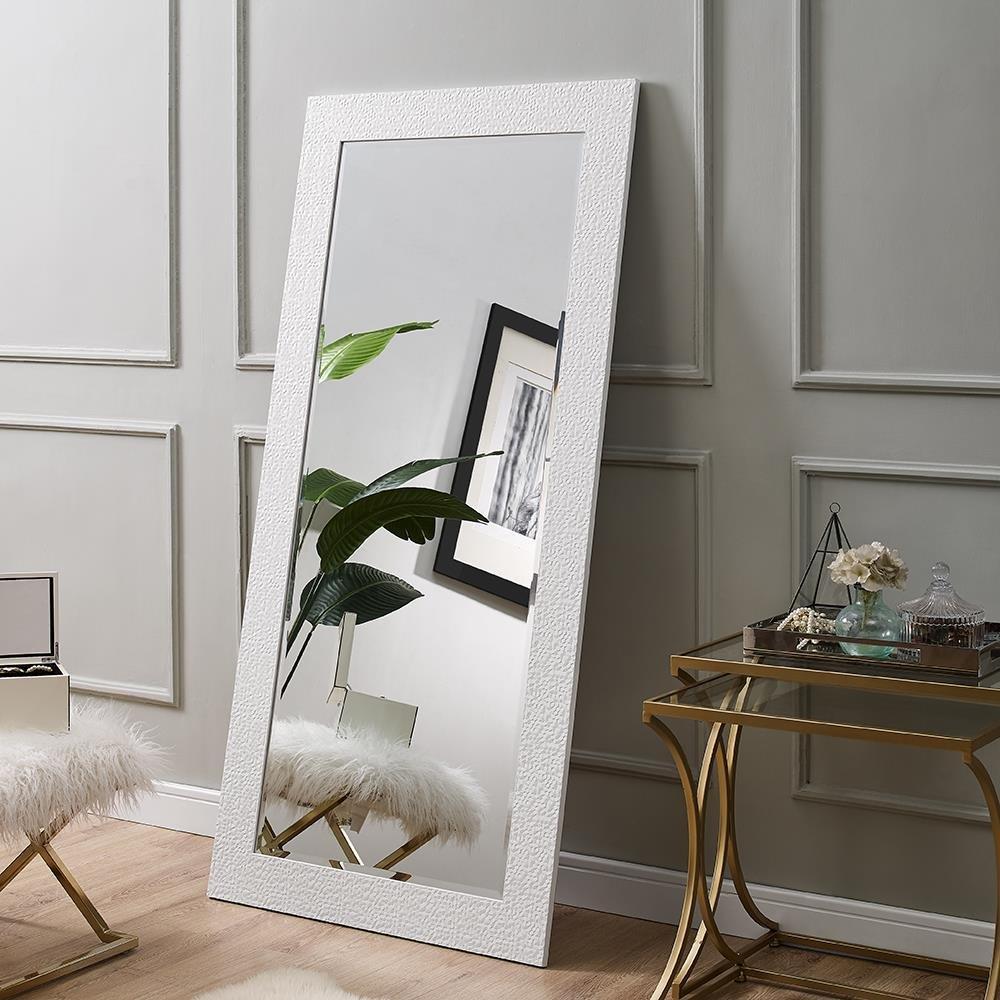 Naomi Home Mosaic Style Mirror White/65.5'' x 31.5'' by Naomi Home