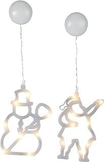 STAR 809–10luce decorativa, plastica, Frosted, 12,5x 1x 20cm