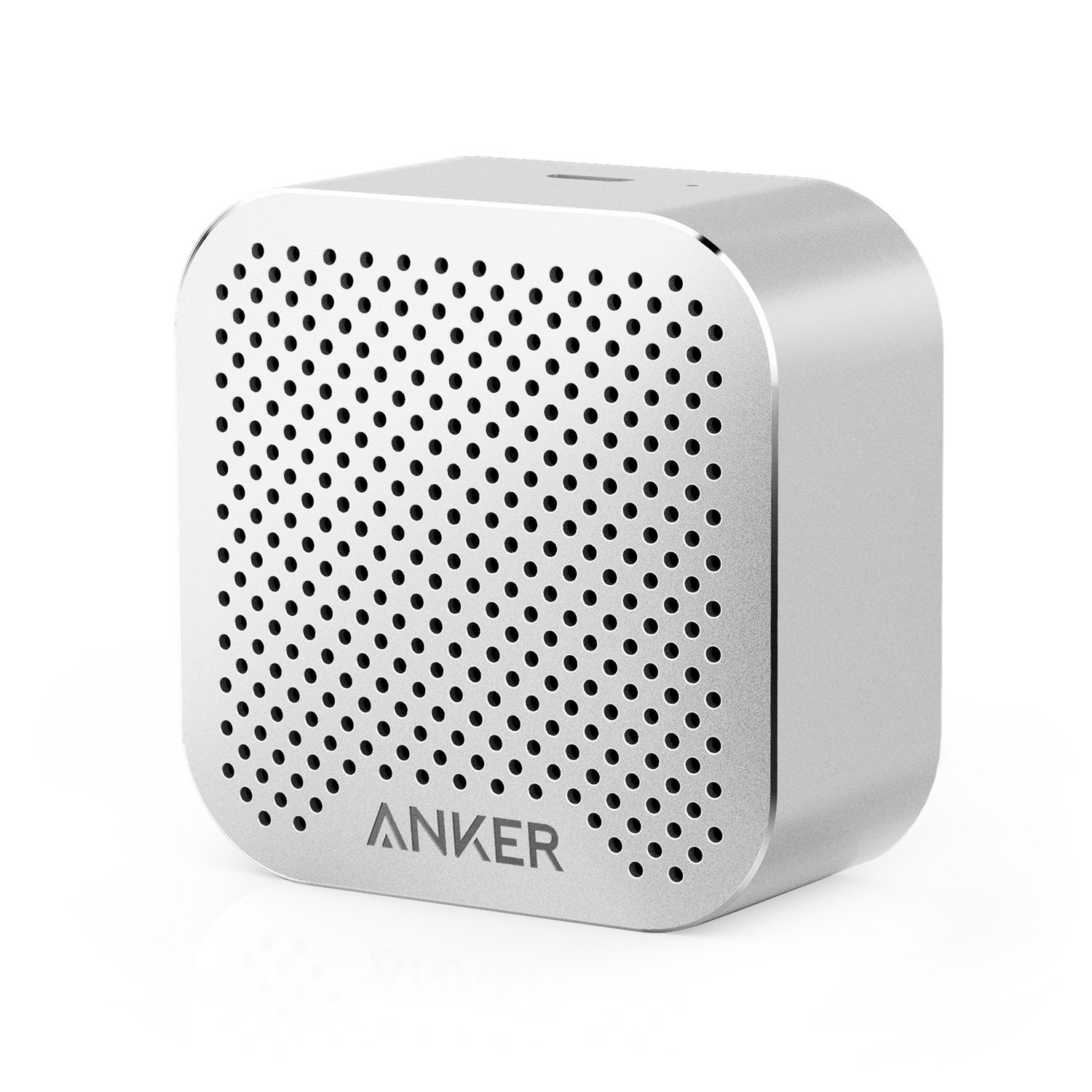 Anker SoundCore Nano Bluetooth Speaker Big Sound, Super-Portable Wireless Speaker Built-in Mic iPhone 7, iPad, Samsung, Nexus, HTC, Laptops More - Silver