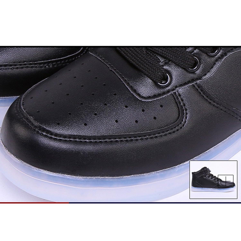 Amazon.com   Helens Pinkmartini 7 Colors Light Shoes High Top Sports Sneakers For Men, Black, 11 D(M) US   Shoes