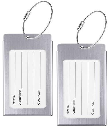 Amazon.com: Etiquetas de equipaje, webravery veliz etiquetas ...