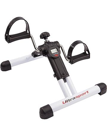 Ultrasport Mini Bike Exerciser plegable MPE Com 25 con consola – aparato compacto y transportable para