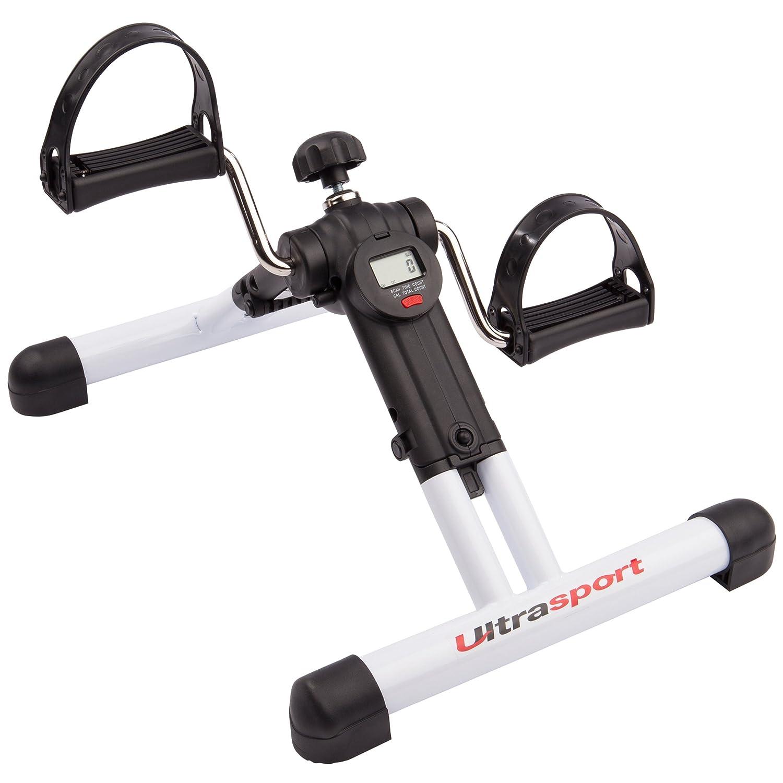 Mini-Heimtrainer Ausdauertraining Mini Bike Heimtrainer Beine Arme Hometrainer Pedaltrainer f/ür Muskelaufbau Ultrasport Mini Bike Armtrainer und Beintrainer