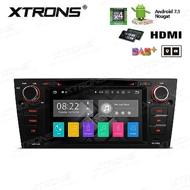 XTRONS HDMI Android 7.1 Quad Core 7 Inch HD Digital pantalla táctil Radio estéreo de coche