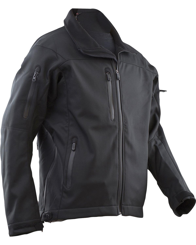 TRU-SPEC 24-7 2088010 LE Softshell Jacket, 5X-Large Regular, Black