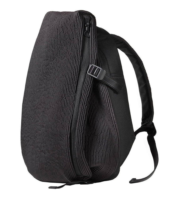 (コートエシエル)Cote&Ciel イザールリュックサック スモール/フロード ナイロン/Isar Small Furrowed Nylon Backpack Powder Black [並行輸入品] B01N75IUUW