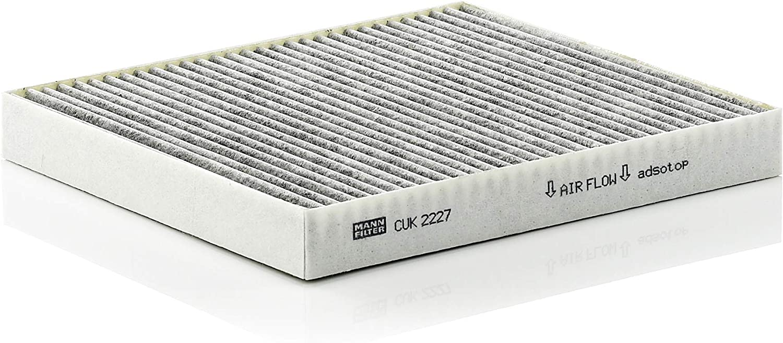 Original Mann Filter Innenraumfilter Cuk 2227 Pollenfilter Mit Aktivkohle Für Pkw Auto