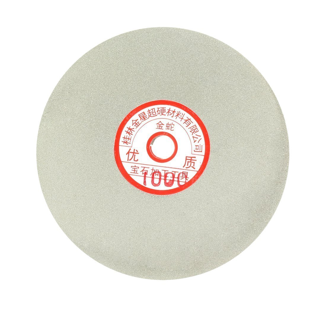 Sourcingmap 6-inch Grit 120 Diamond Coated Flat Lap Wheel Grinding Sanding Polishing Disc a17030900ux1362