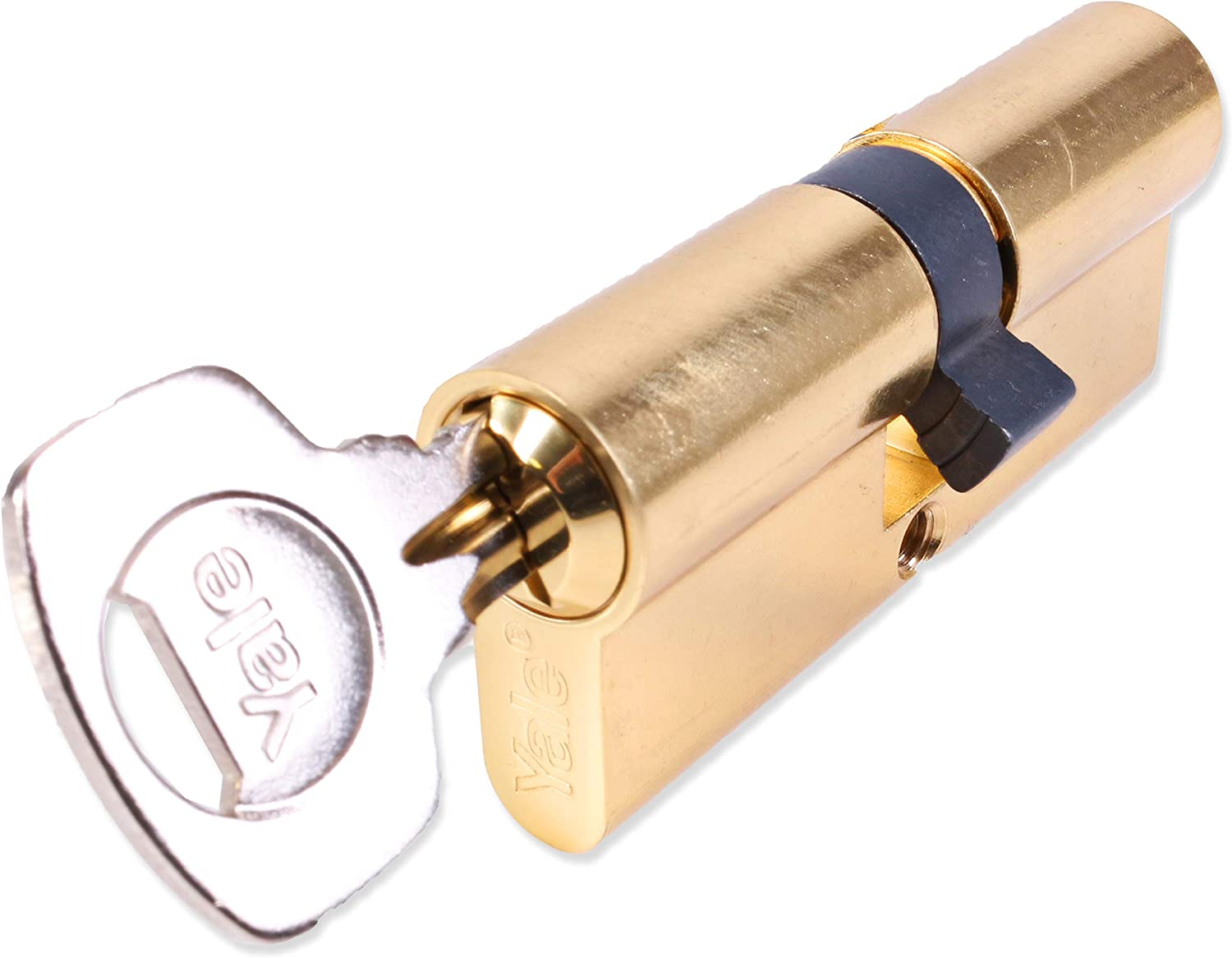 30:10:30, Brass Yale 6 Pin Euro Double Profile Cylinder