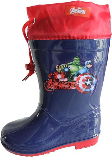 Marvel Avengers Gar/çons Wellington Bottes de Pluie