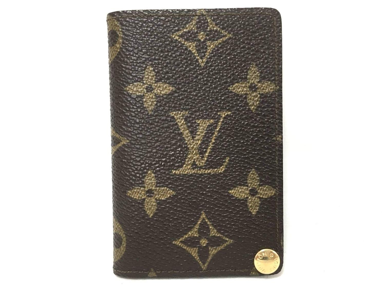 (ルイヴィトン)LOUIS VUITTON カードケース M60937 ポルト カルトクレディ プレッシオン 【中古】   B07MZW9NZR