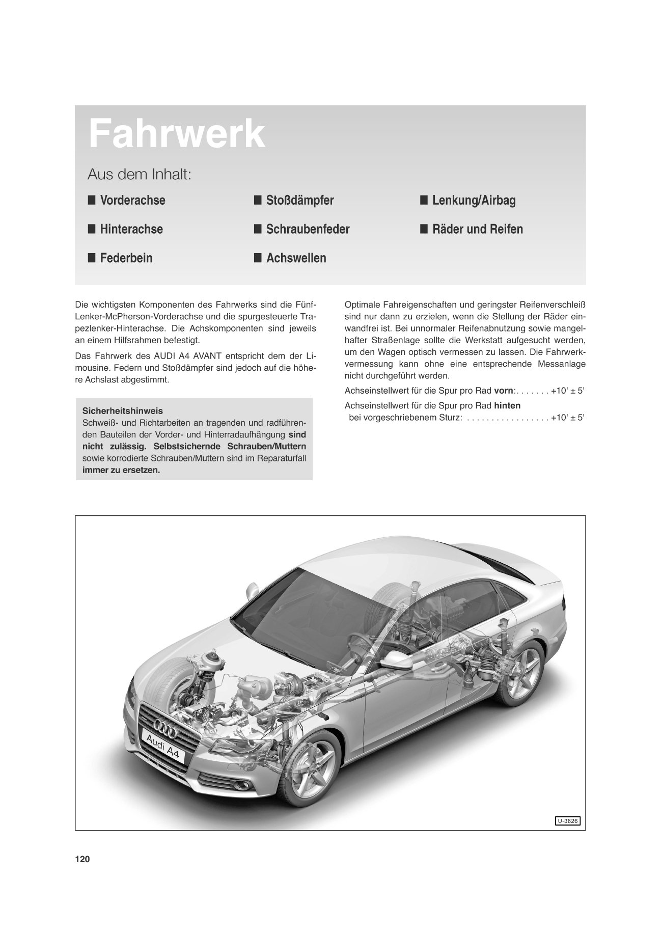 Audi A4, Limousine ab 12/07, Avant ab 3/08: Imported by Yulo inc ...