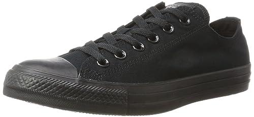 Converse Unisex-Erwachsene CTAS-Ox-Black Monochrome Sneakers
