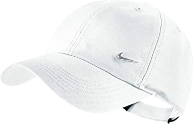 Nike - Visera infantil Heritage 86 Metal Swoosh - otros, blanco ...