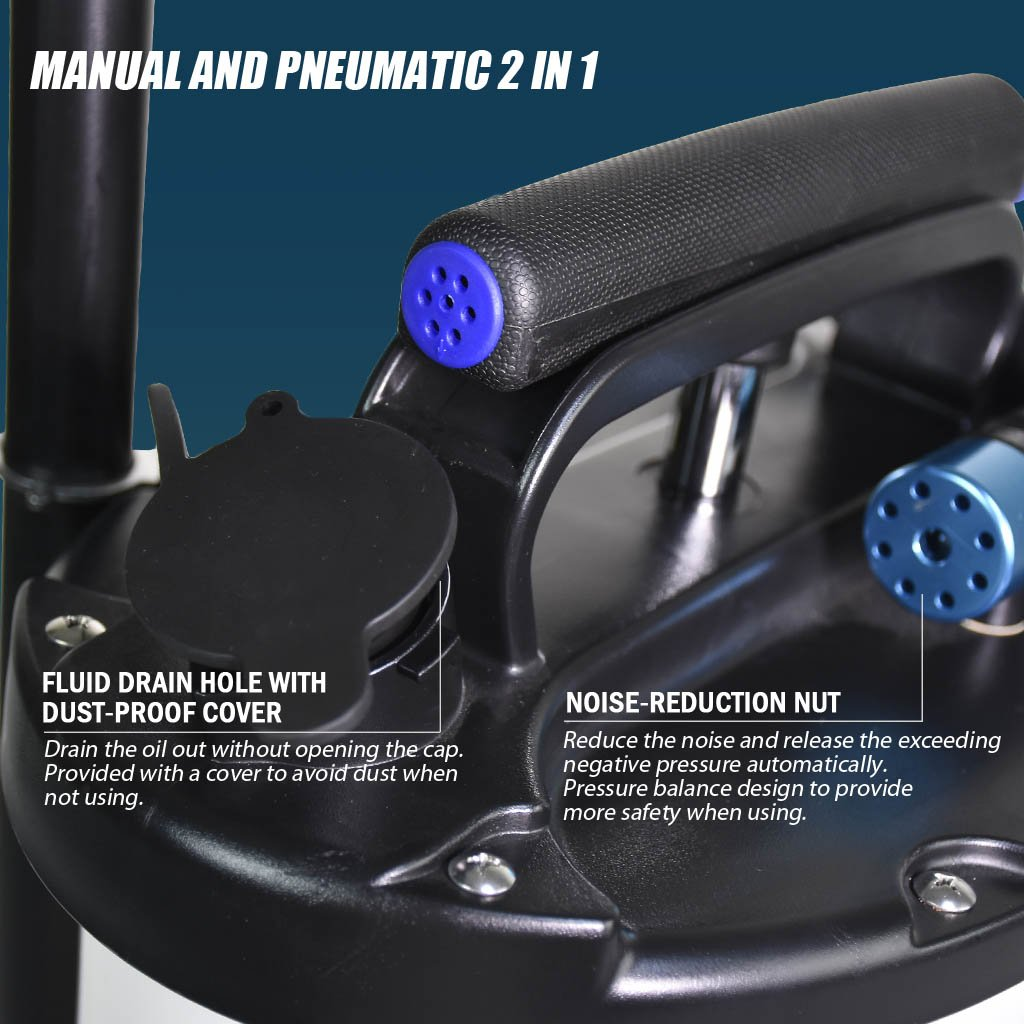 FIRSTINFO 6L Pneumatic and Manual Operation Oil or Fluid Extractor by FIT TOOLS (Image #3)