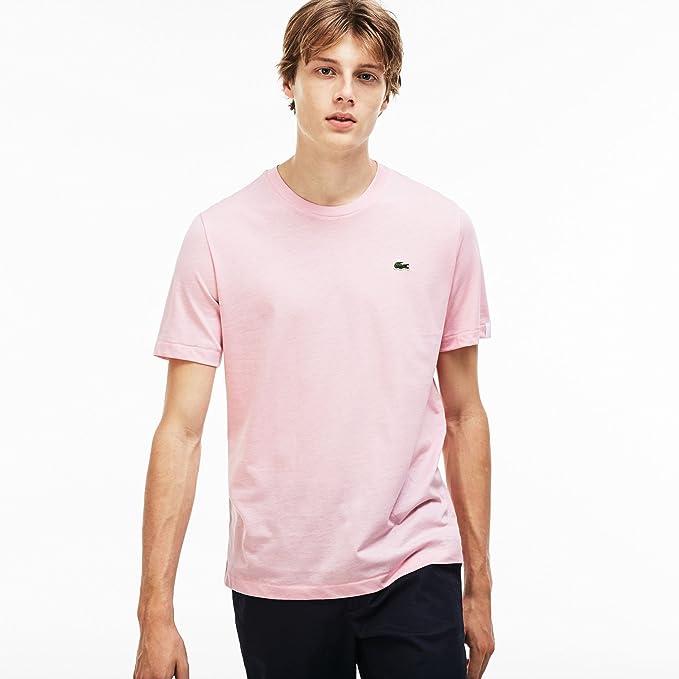 Lacoste Camiseta Live Basic Rosa S Rosa: Amazon.es: Ropa