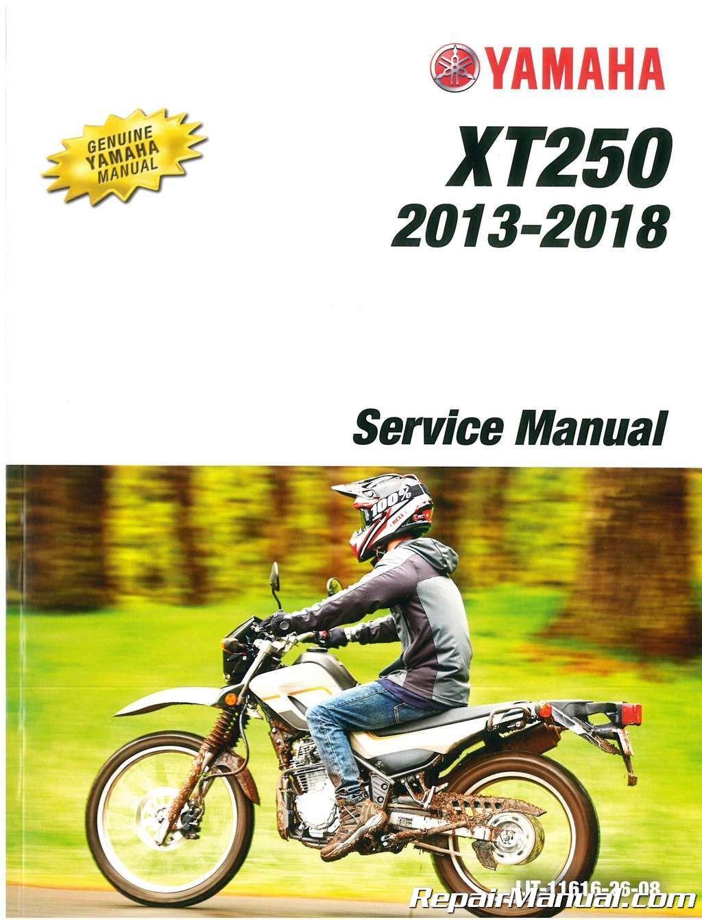 2018 Yamaha XT250 Motorcycle Service Manual: Manufacturer: Amazon.com: Books