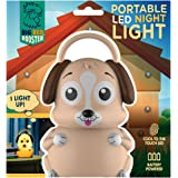 Big Red Rooster BRRC115 Portable Dog LED Night Light With Handle - Operates On 3 AAA Batteries - Childrens Night Light Kids Night Light