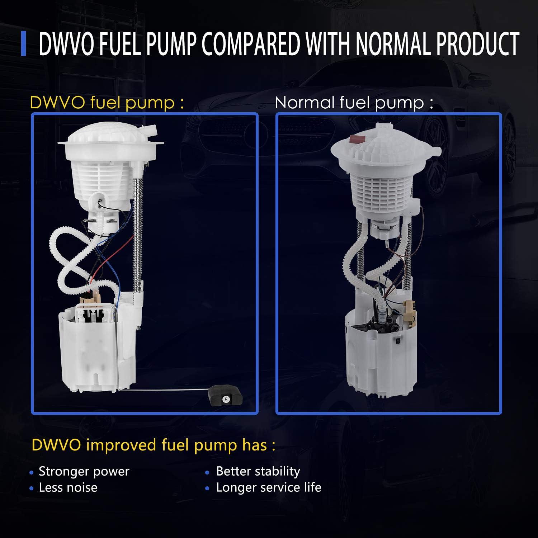 DWVO Fuel Pump Compatible with 1996 1997 Dodge Ram 1500 2500 3500 3.9L 5.2L 5.9L 8.0L