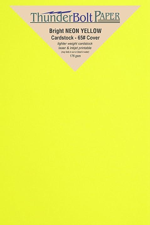 Amazon 200 bright neon yellow cardstock 45 x 65 inches 200 bright neon yellow cardstock 45 x 65 inches between 4x6 and 5x7 stopboris Images