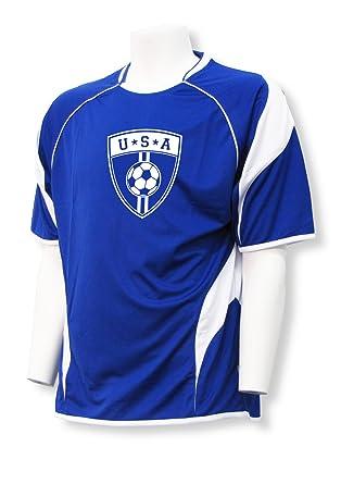 ad9edb0c05fc Amazon.com  USA Soccer Jersey - customizable with your name