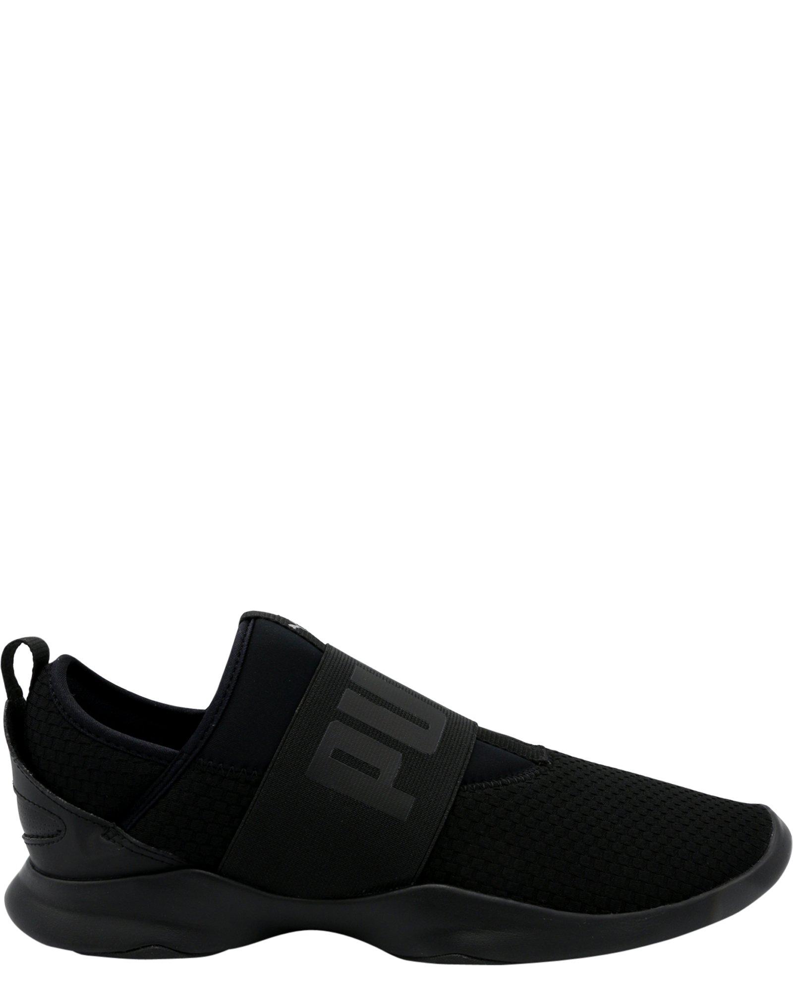 PUMA Women's Dare WNS En Pointe Sneaker, Black Black, 9 M US
