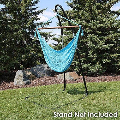 Sunnydaze Decor Hanging Rope Hammock