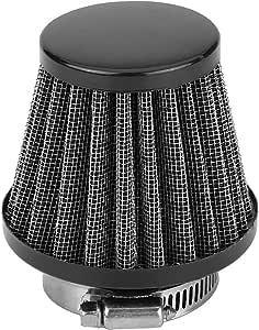 filtro de aire de admisi/ón Filtro de aire de motocicleta Kit universal de filtro de aire de admisi/ón de motocicleta con ATV todoterreno Quad Dirt Pit Bike Gold Azul Filtro de aire de 38 mm