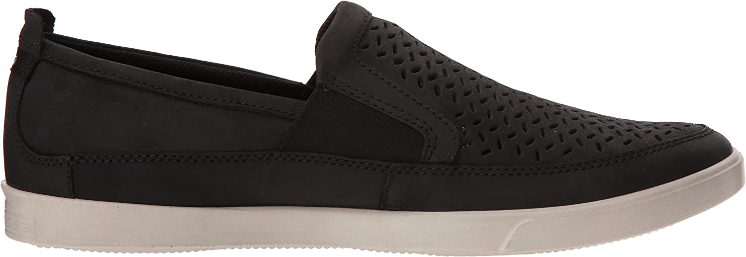 ECCO Collin, Baskets Enfiler Homme Noir Black