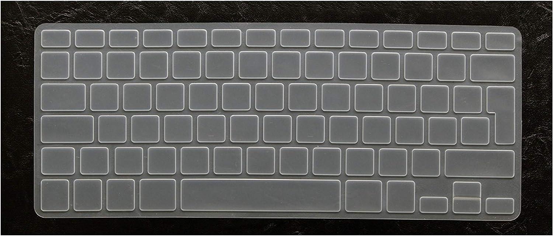Russian Euro Enter Alphabet Keyboard Cover Stickers Protector for MacBook Air 13.3 Mac Book Air13 Inch A1466 A1369,Clear