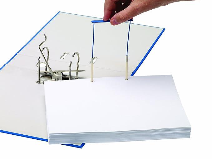 Bankers Box CRC 00898 - Fasteners de plástico Pro clip, 100 mm, azul: Amazon.es: Oficina y papelería