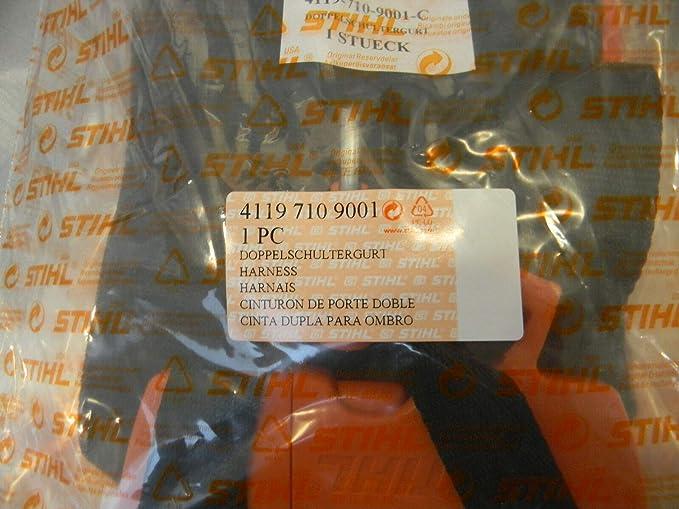 Amazon.com: Stihl 4119 – 710 – 9001 OEM estándar Arnés para ...